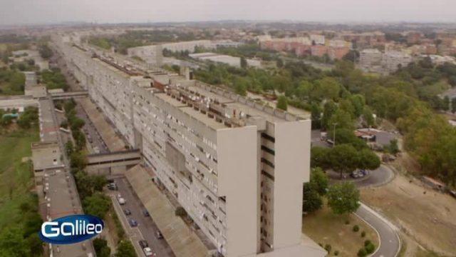 Corviale – das längste Hochhaus Europas
