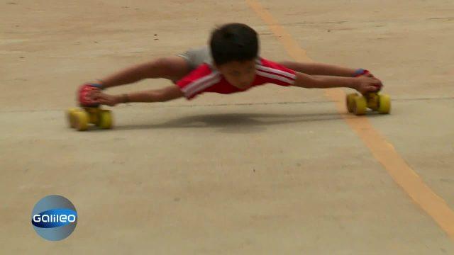Akrobatik-Kindertalente