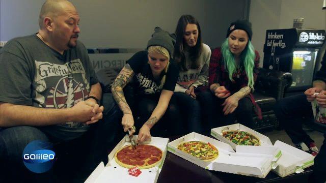 Pizza: Billig vs. Teuer