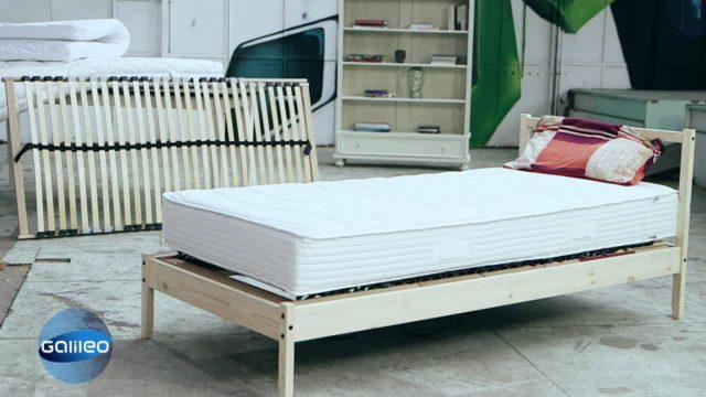 Wie billig darf's sein: Bett