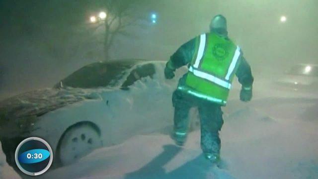 Wissenscountdown: Blizzard in New York