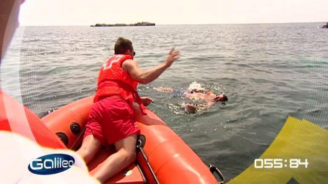 100 Sekunden: Ertrinken im See