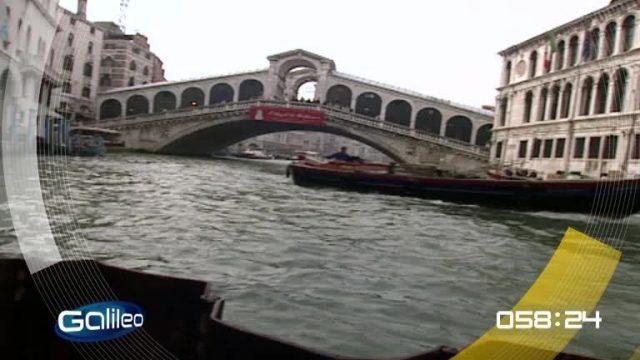 100 Sekunden: Hochwasser Venedig