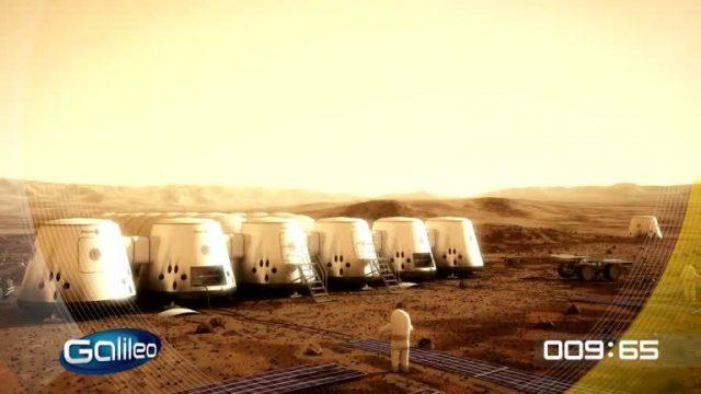 100 Sekunden: Leben auf dem Mars
