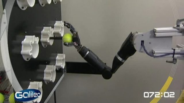 100 Sekunden: Roboter