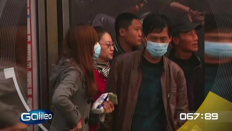 100 Sekunden: Smogschicht über China