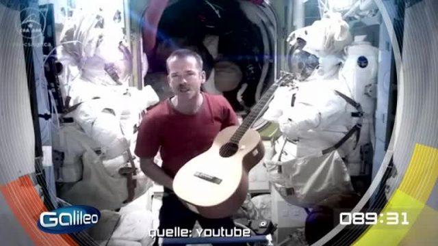 100 Sekunden: Social Media Astronaut