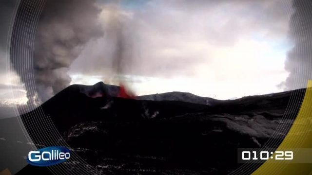 100 Sekunden: Vulkane