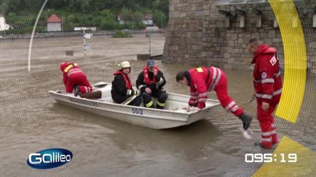 100 Sekunden: Weg des Hochwassers