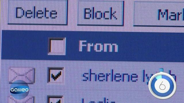 60 Sekunden erste E-Mail