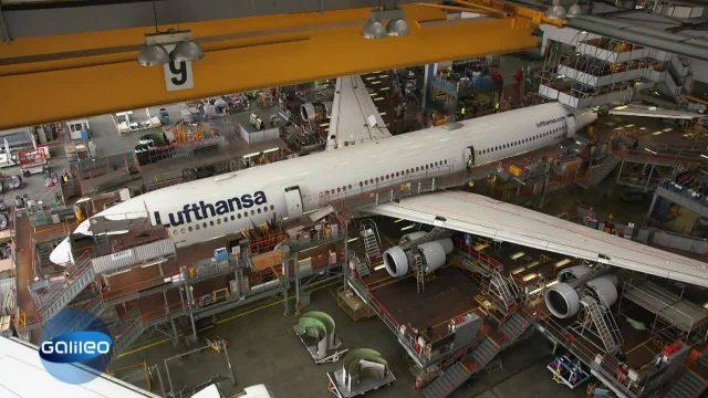 Airbus in Einzelteilen