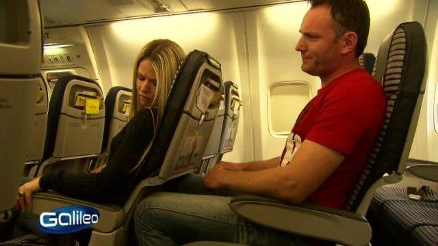 Benimmcheck Flugzeug
