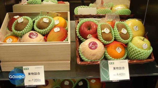 Bildgeschichte: Luxus-Obstladen