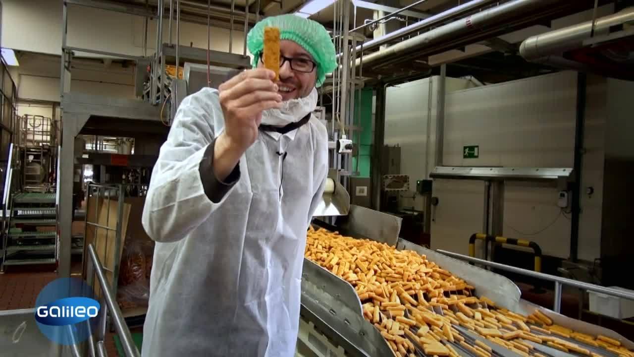 Fischstäbchenproduktion