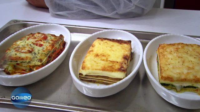 Günstige Tiefkühl- Lasagne