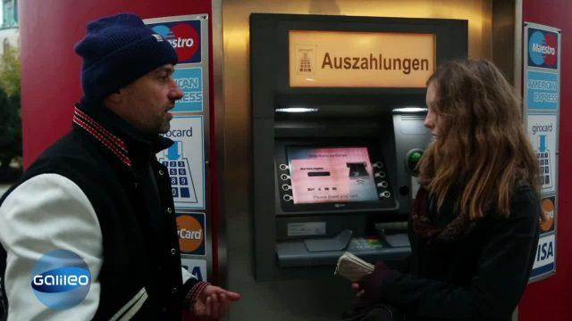 Gefährliche Sekunde: Bankbetrug