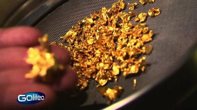 Gold aus der Kiesgrube