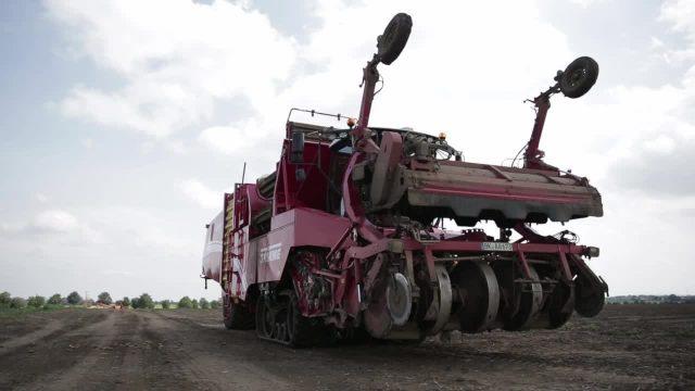 Hightech Landmaschinen