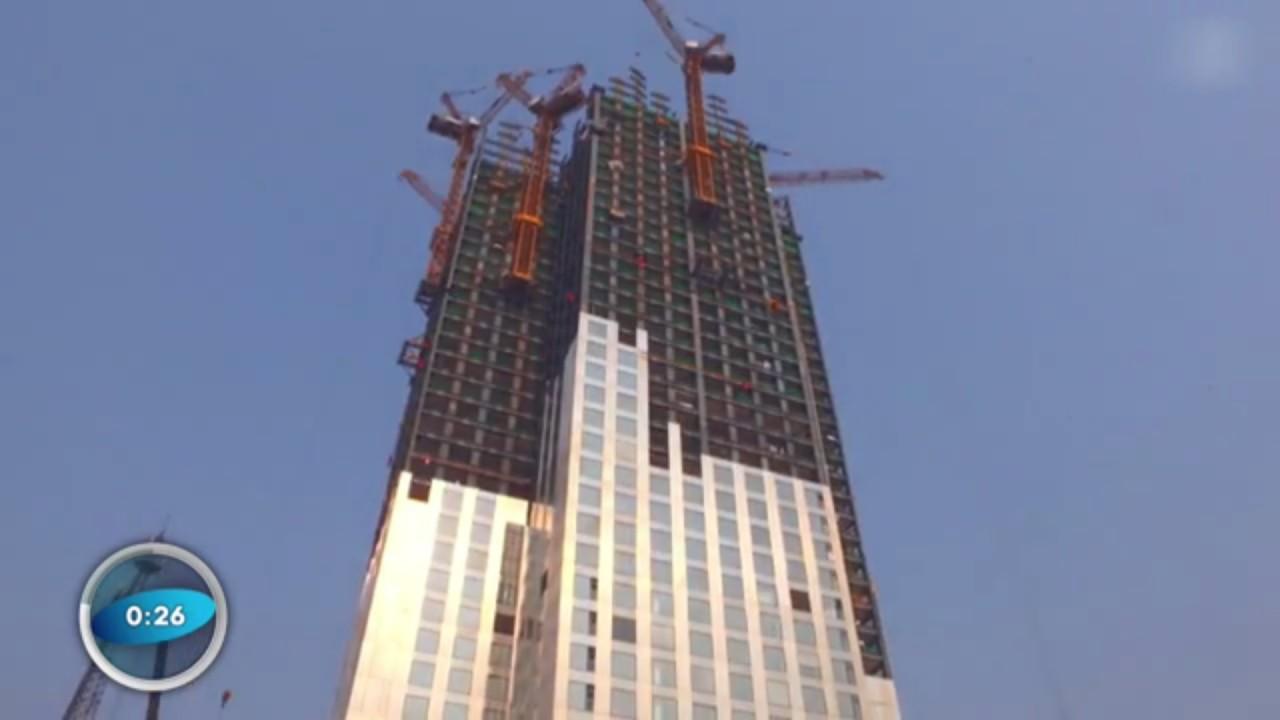 neuer rekord chinesen bauen hochhaus in nur 19 tagen. Black Bedroom Furniture Sets. Home Design Ideas