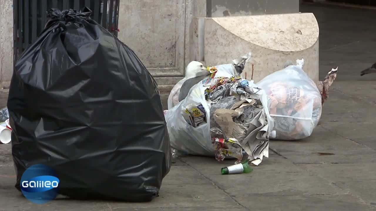 Kontrastreportage Müll: Italien vs. Deutschland