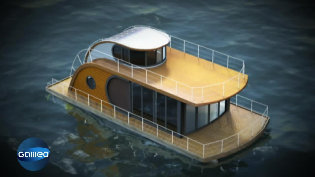 luxus hausboot. Black Bedroom Furniture Sets. Home Design Ideas