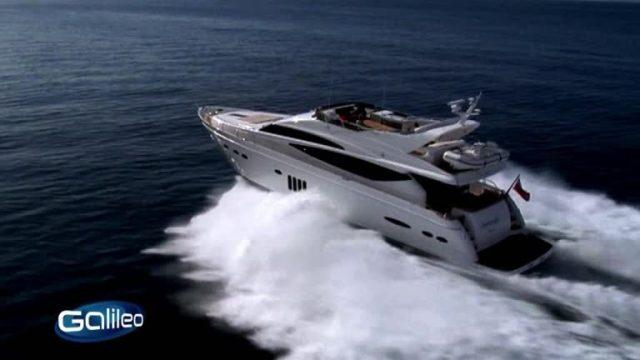 Luxus-Yachthafen