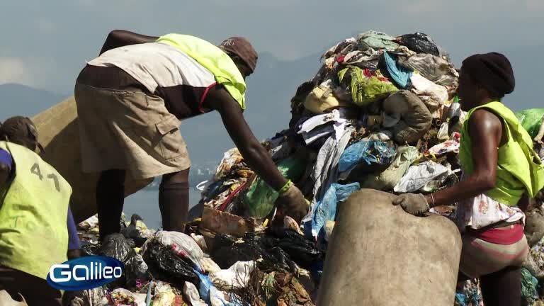 Müllarbeiter in Rio