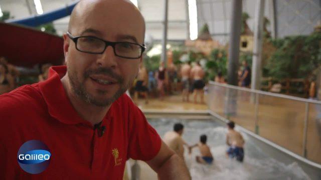Matthias allein gelassen: Spaßbad