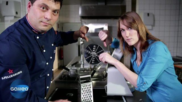 Mensch vs. Maschine: Küchenmaschine