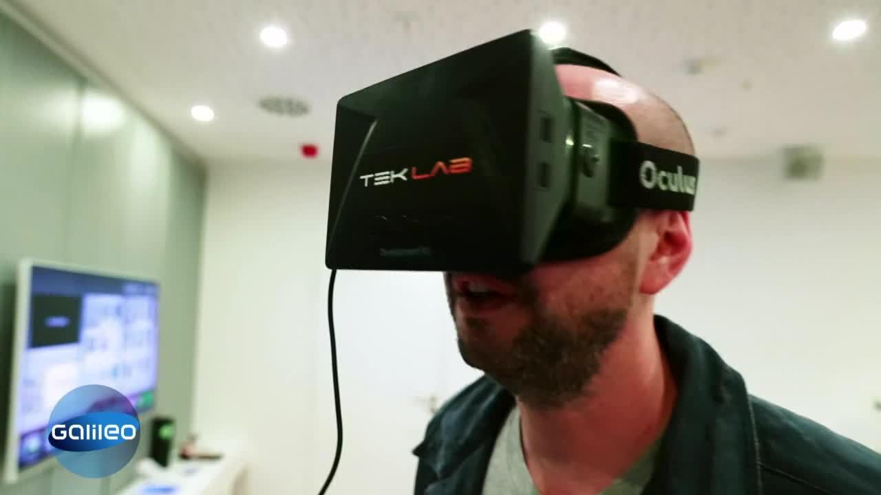 Neue Virtual-Reality Brille
