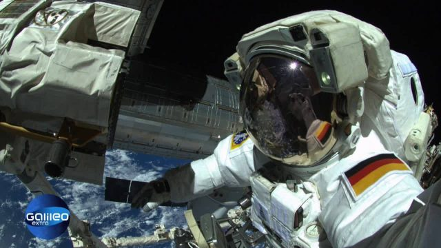 Platz 1: Weltraumspaziergang-Selfie