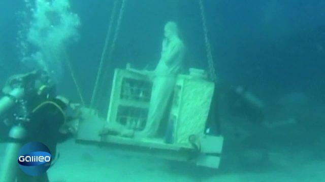 Stöpsel raus - Schätze am Meeresboden