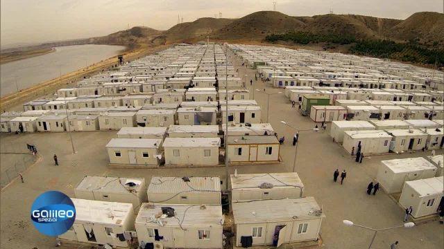 Staatlich Geführtes Flüchtlingslager - Nizip1