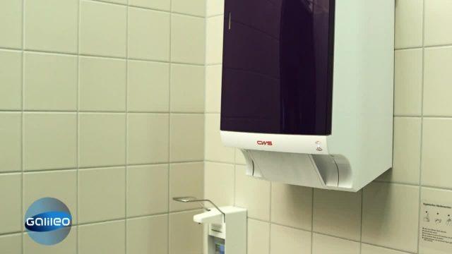 Waschen XXL - WC-Handtuchwäscherei