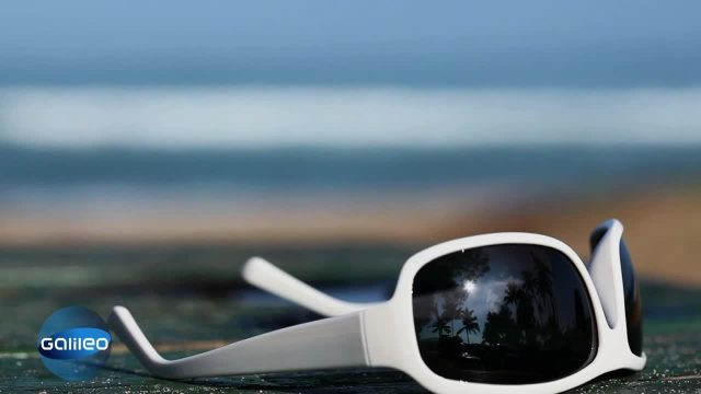 Wie kommt die Sonne in die Brille?