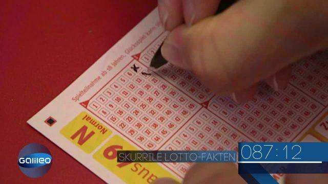 Wissens-Countdown: Skurrile Lotto-Fakten