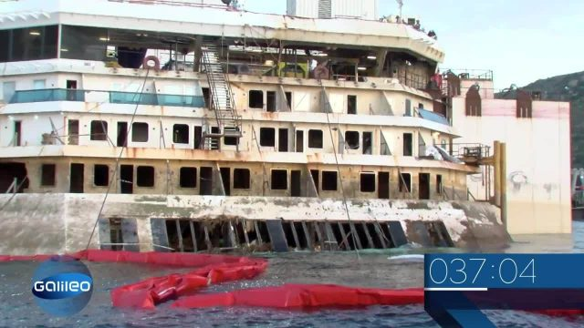 Wissenscountdown: Costa Concordia