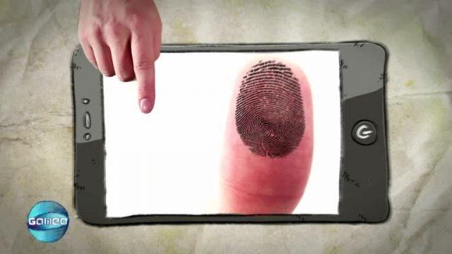 Wissensticker: Fingerabdruck