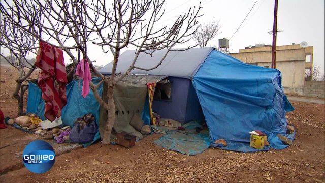Zu Besuch bei einer Flüchtlingsfamilie