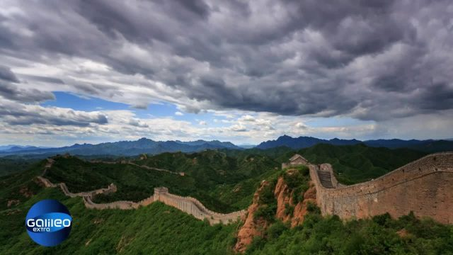 20 places to see - Chinesische Mauer