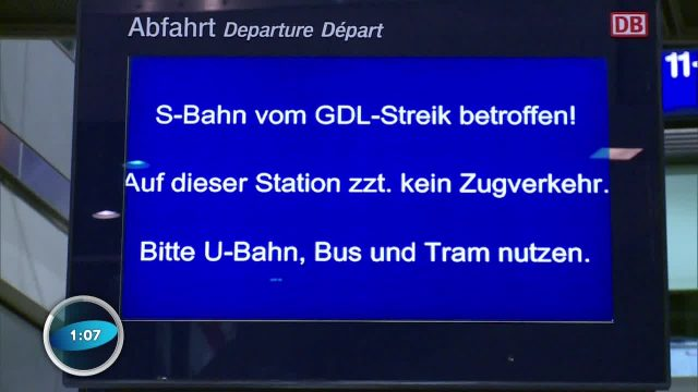 Bahn-Streik - Warum eigentlich?