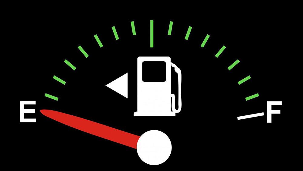 Note der Aufwand des Benzins