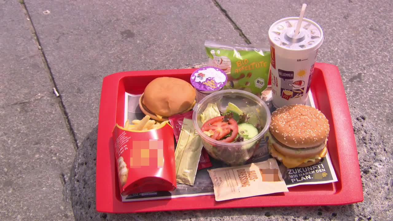 17 Kilo in 90 Tagen: Funktioniert die Fast-Food-Diät?
