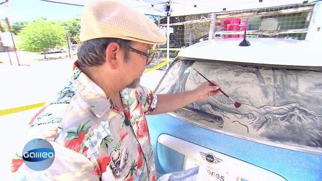 Dirty Car Art - Kunst aus Dreck