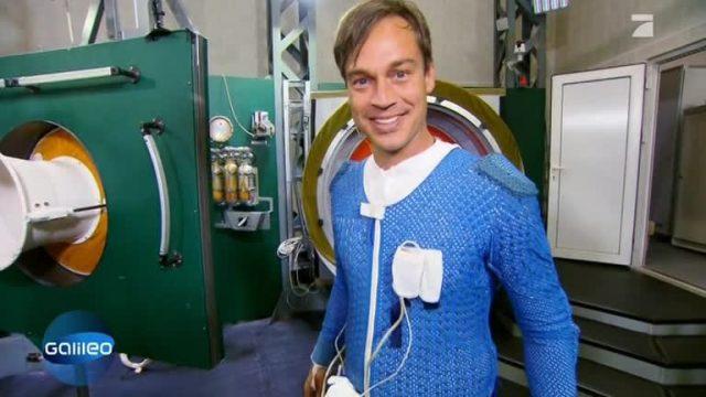 Kosmonautentraining mit Harro
