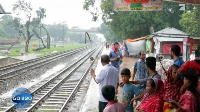 So fährt man Zug in Bangladesch