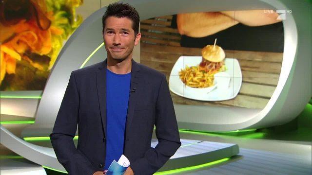 Montag: Veganes Burger-Restaurant