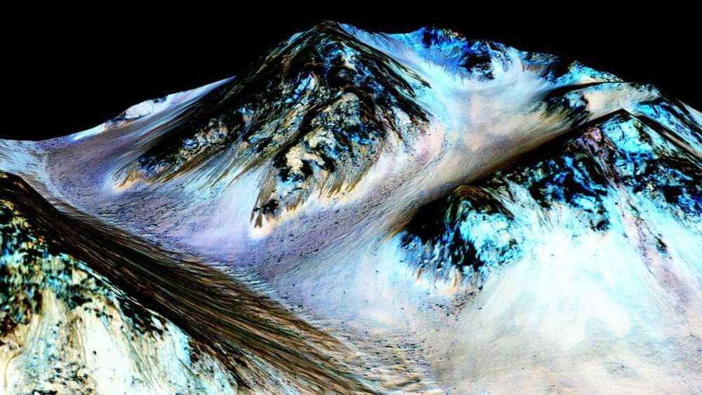 Mars Wasser Gefunden
