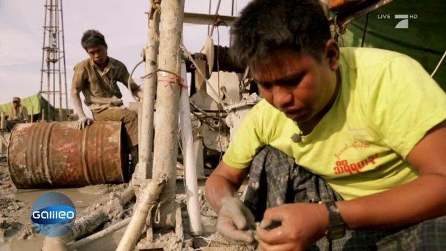 Die Ölbauern von Myanmar