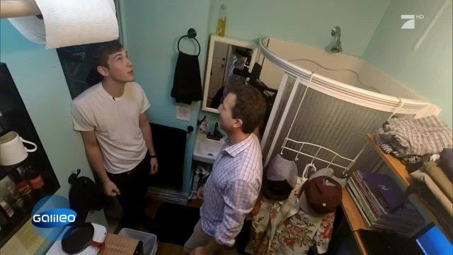Die kleinste Wohnung Manhattans